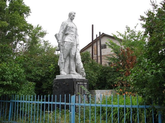 Памятник землякам, погибшим в годы Великой Отечественной войны, 1967 г. Граховский район, д. Каменное