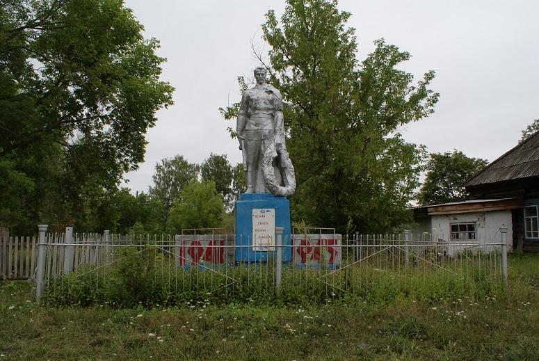 Памятник землякам, погибшим в годы Великой Отечественной войны, 1968 г. Граховский район,   д. Старые Ятчи