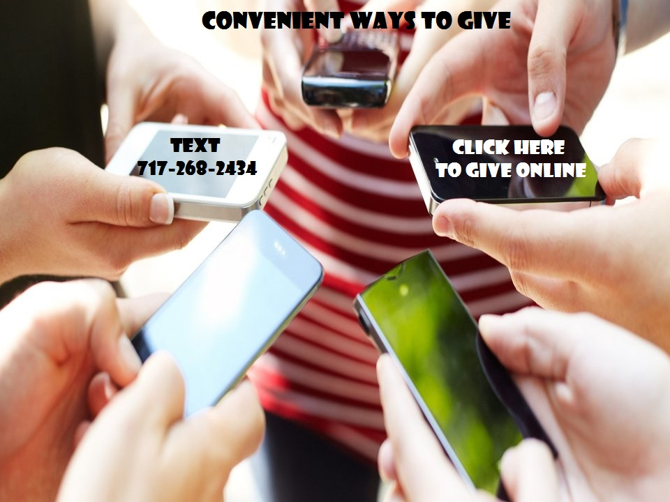 First time givers will be prompted to register