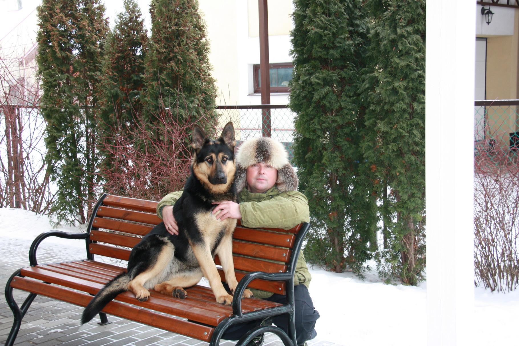 Шеридан с Сергеем Мельниковым