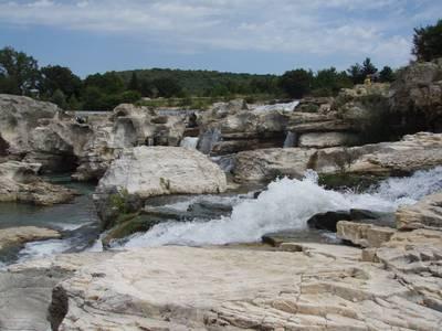 les gorges de la Cèze dans le Gard