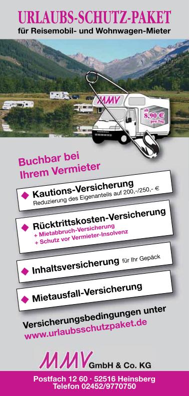 Flyer Urlaubsschutzpaket