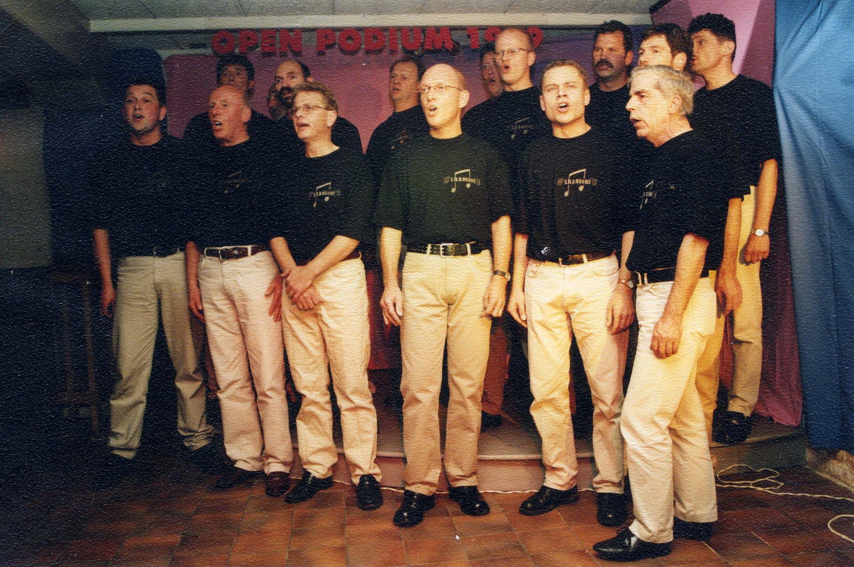 Optreden tijdens Open Podium in Doetinchem