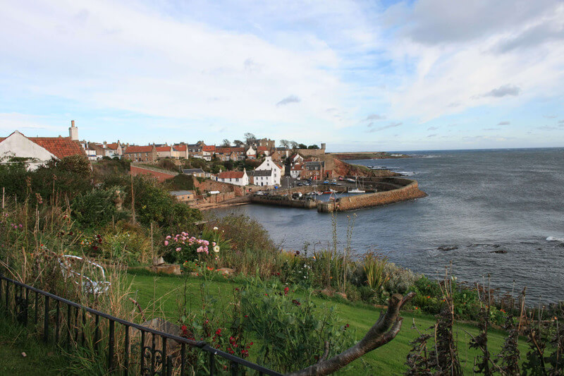 Crail is only one of many lovely villages in the Kingdom of Fife