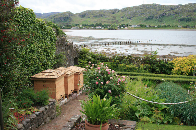 Inverewe Garden is located on the North Coast 500
