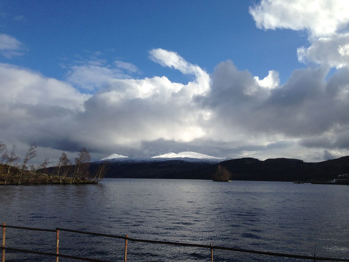 Loch Katrine in February