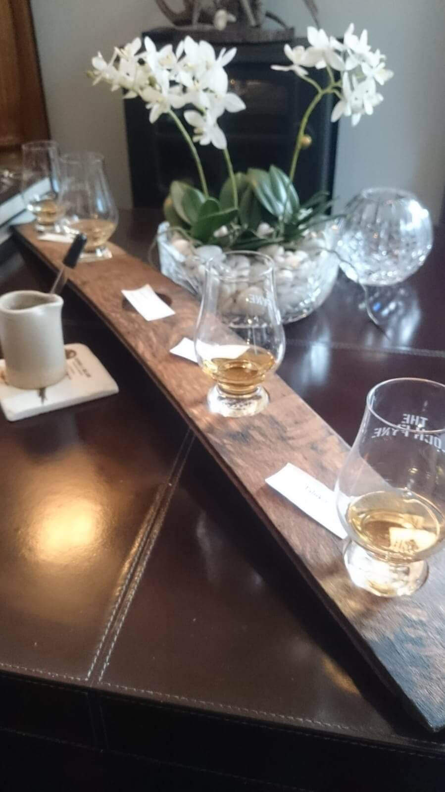 Begrüßungswhisky