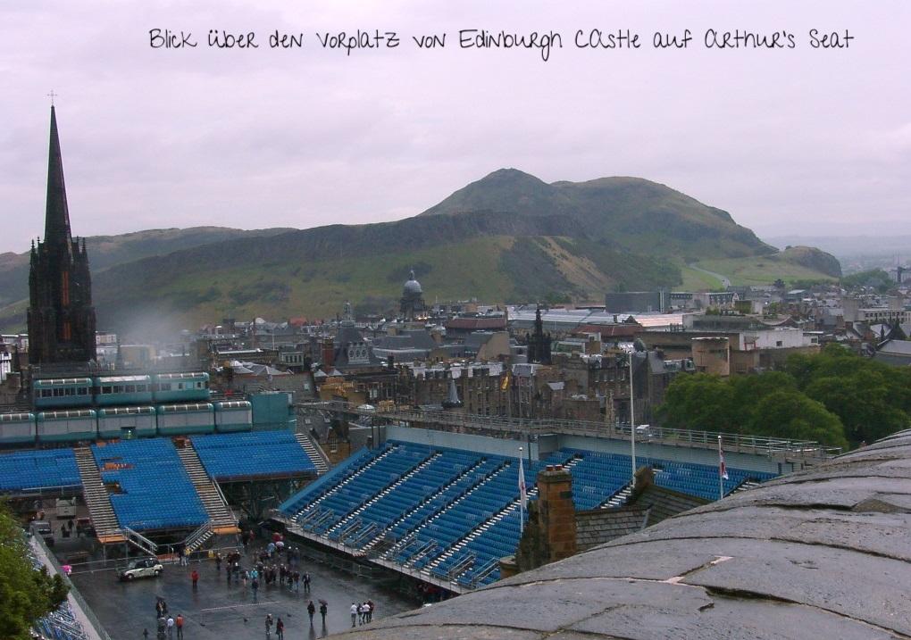 Edinburgh Castle and Arthur's Seat