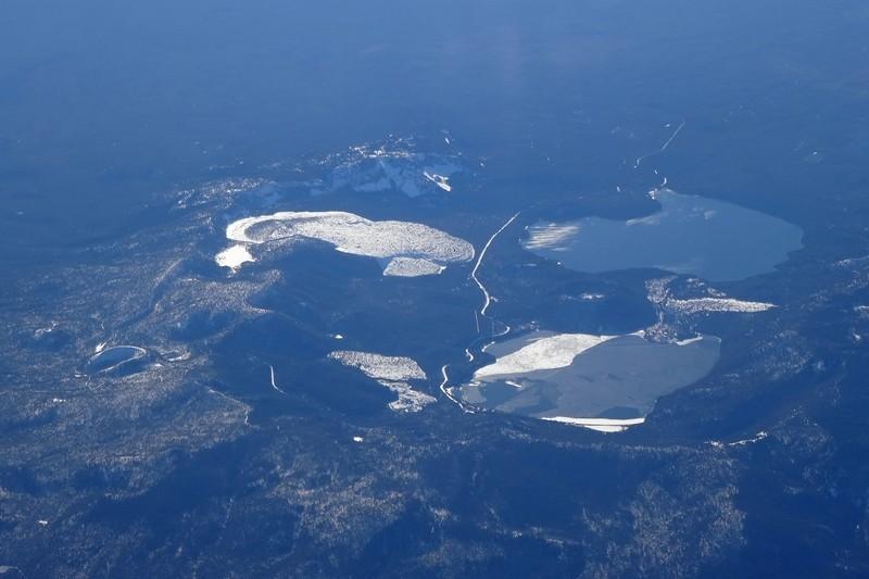 Paulina Lake und East Lake mit dem Traumstellplatz direkt am Ufer