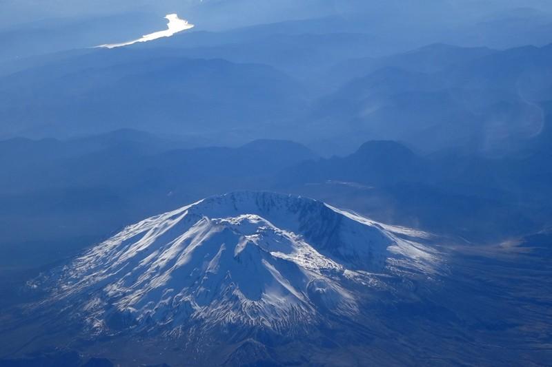 Mount Saint Helens - 2013 dem Government shut down zum Opfer gefallen