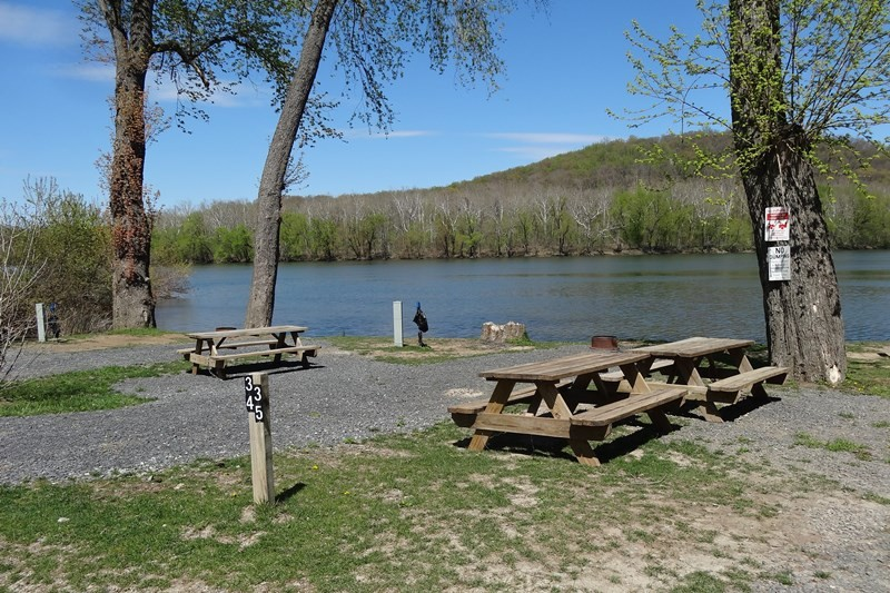 Harpers Ferry Campground, Harpers Ferry, WV