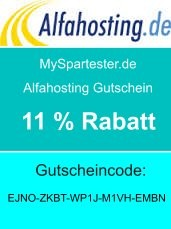 Alfahosting Gutschein