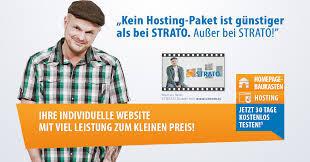 Strato Homepage und Webhosting