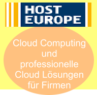 Cloud Lösungen von Host Europe