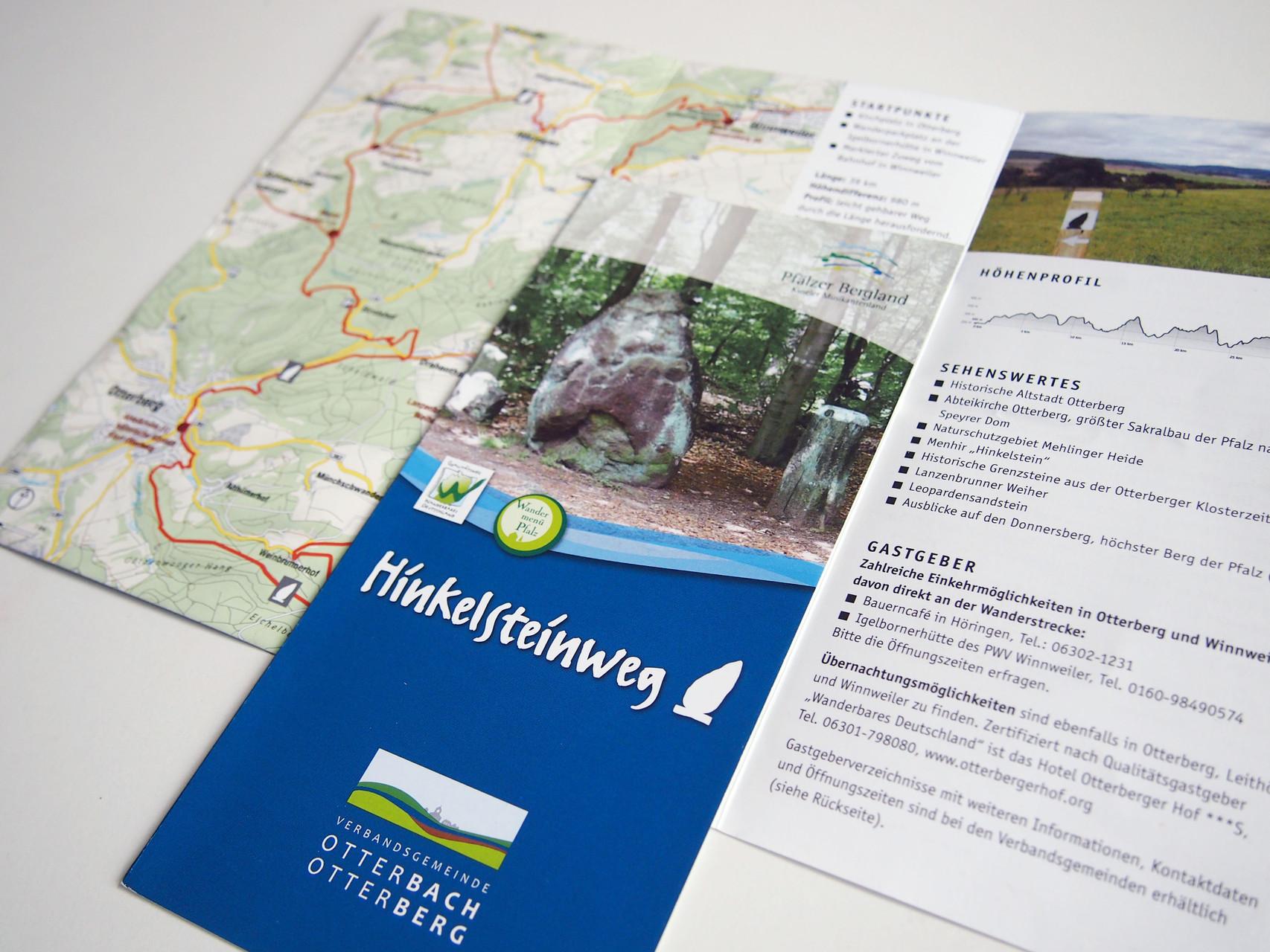 Broschüre Wanderweg