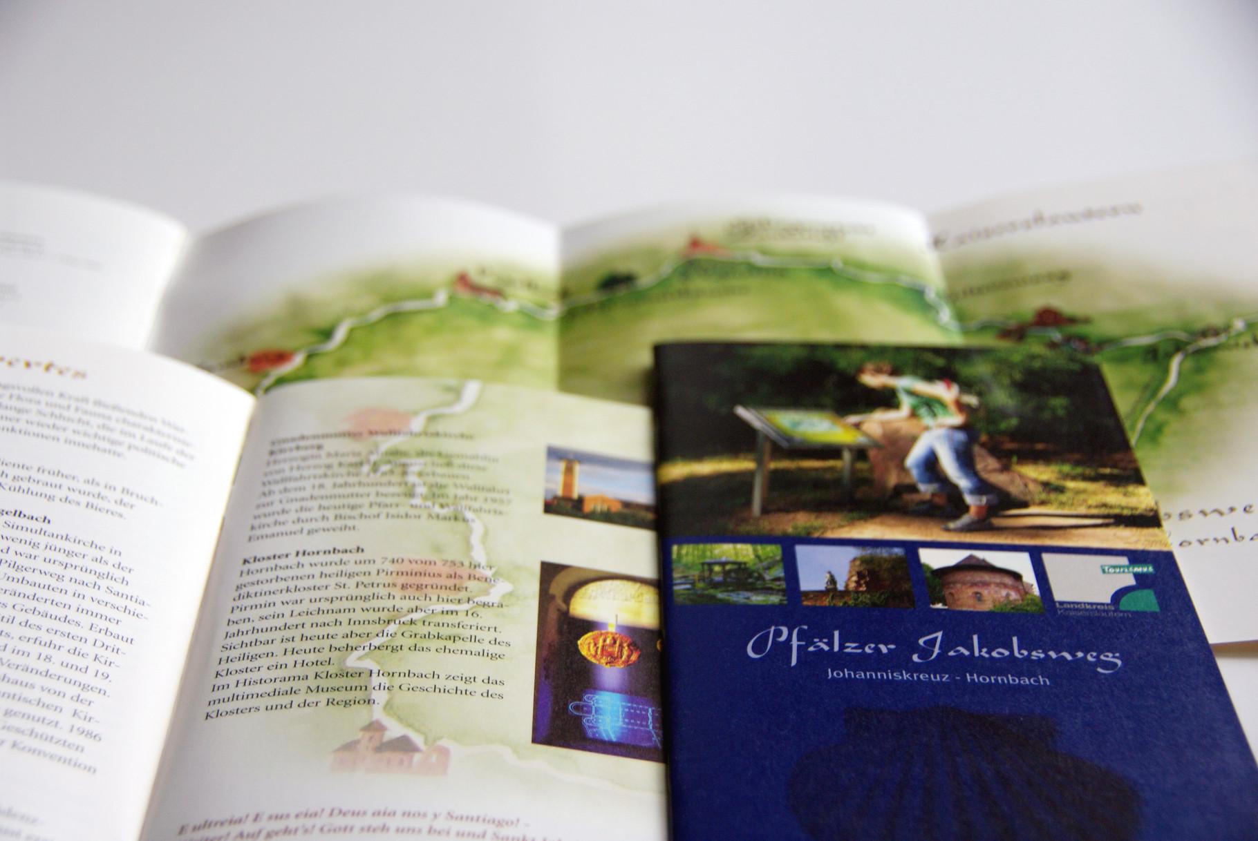 Broschüre Pilgerweg incl. Illustrationen