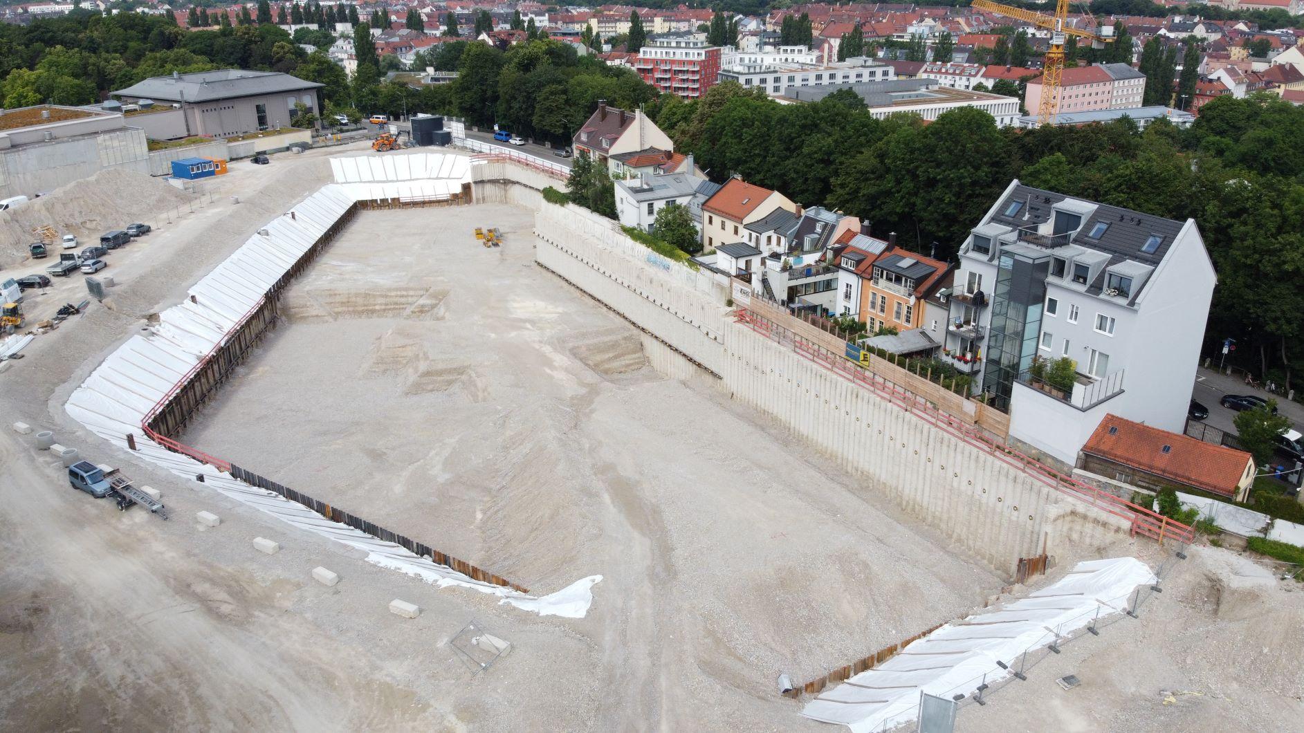 Baugrubensicherung München