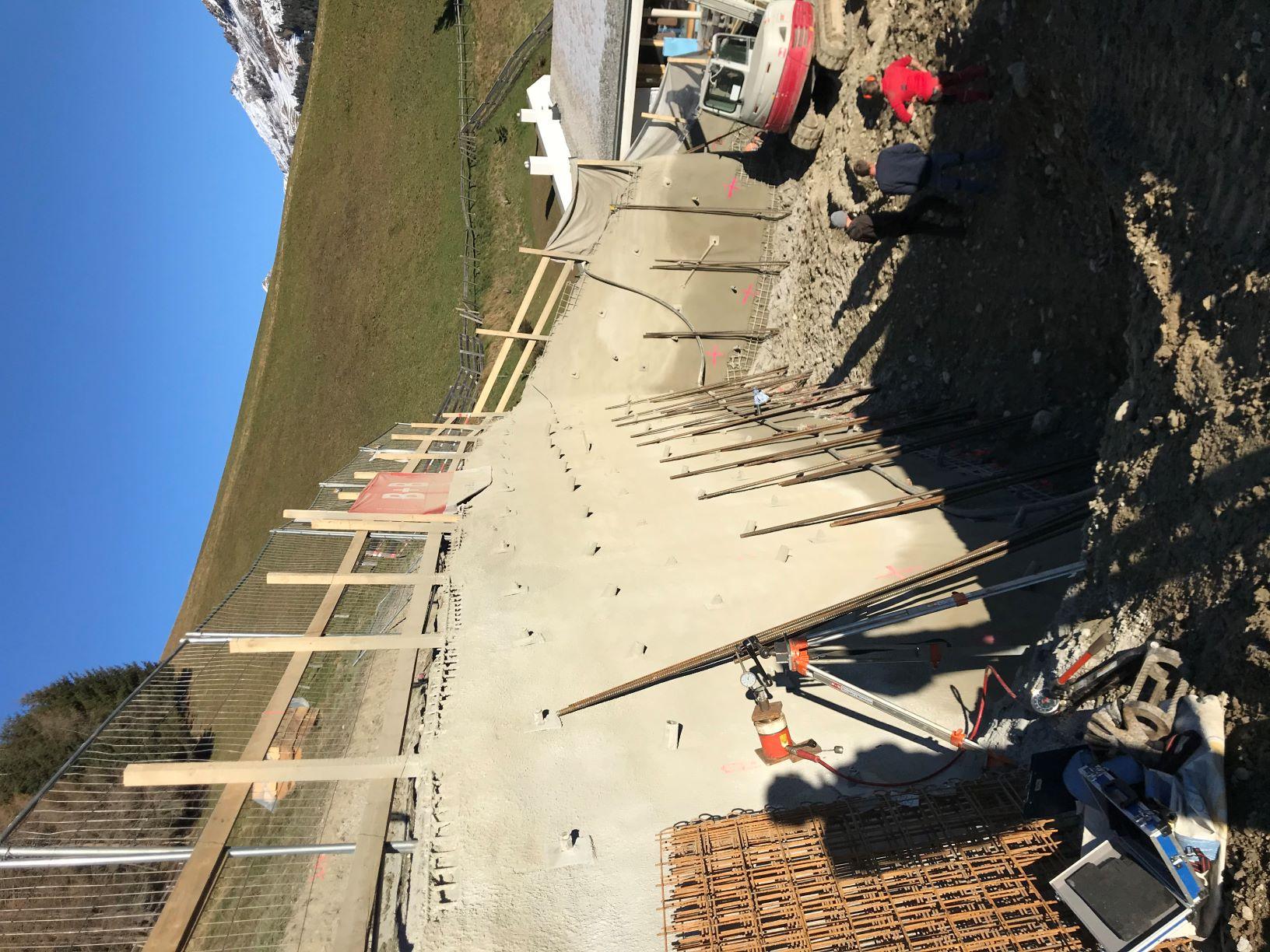 Baugrubensicherung Navis