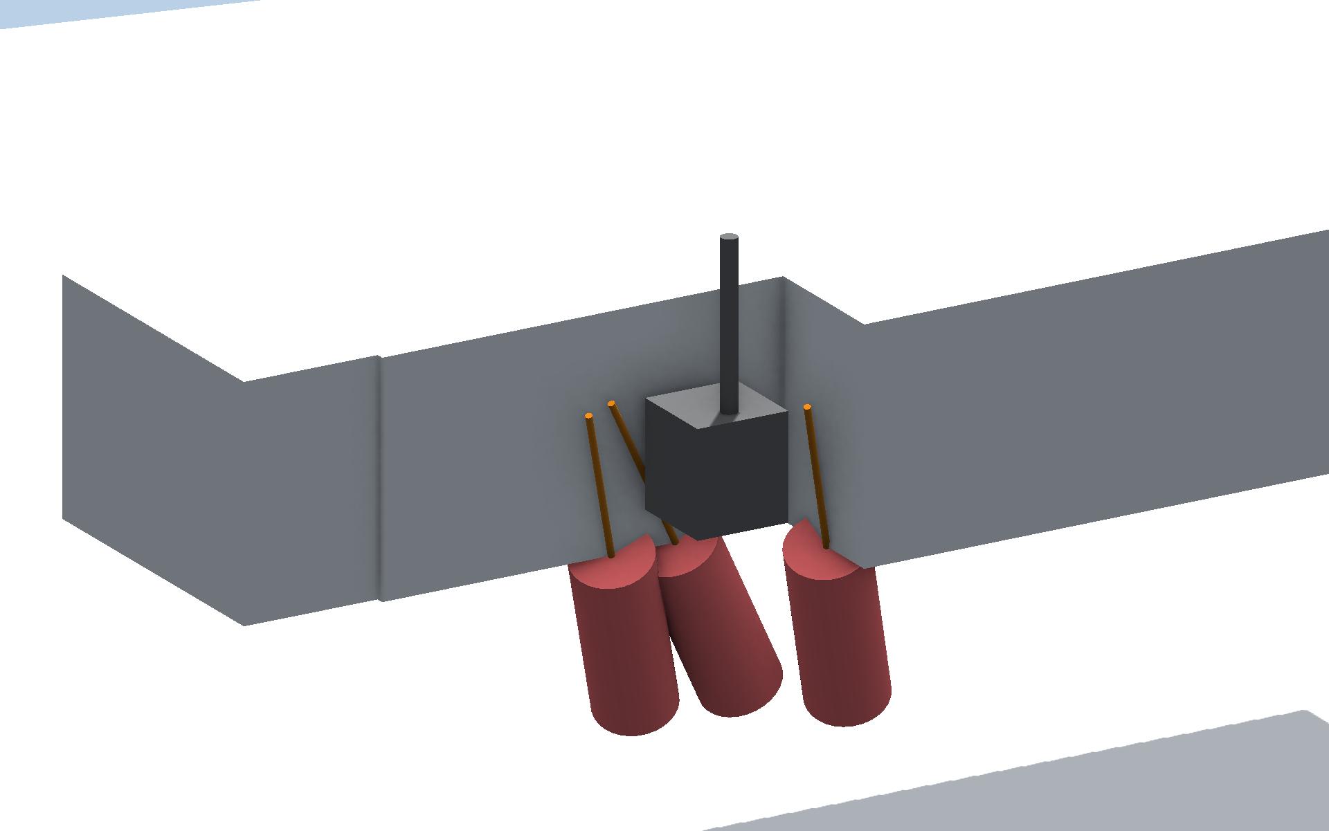 3D Austeilung DSV-Säulen
