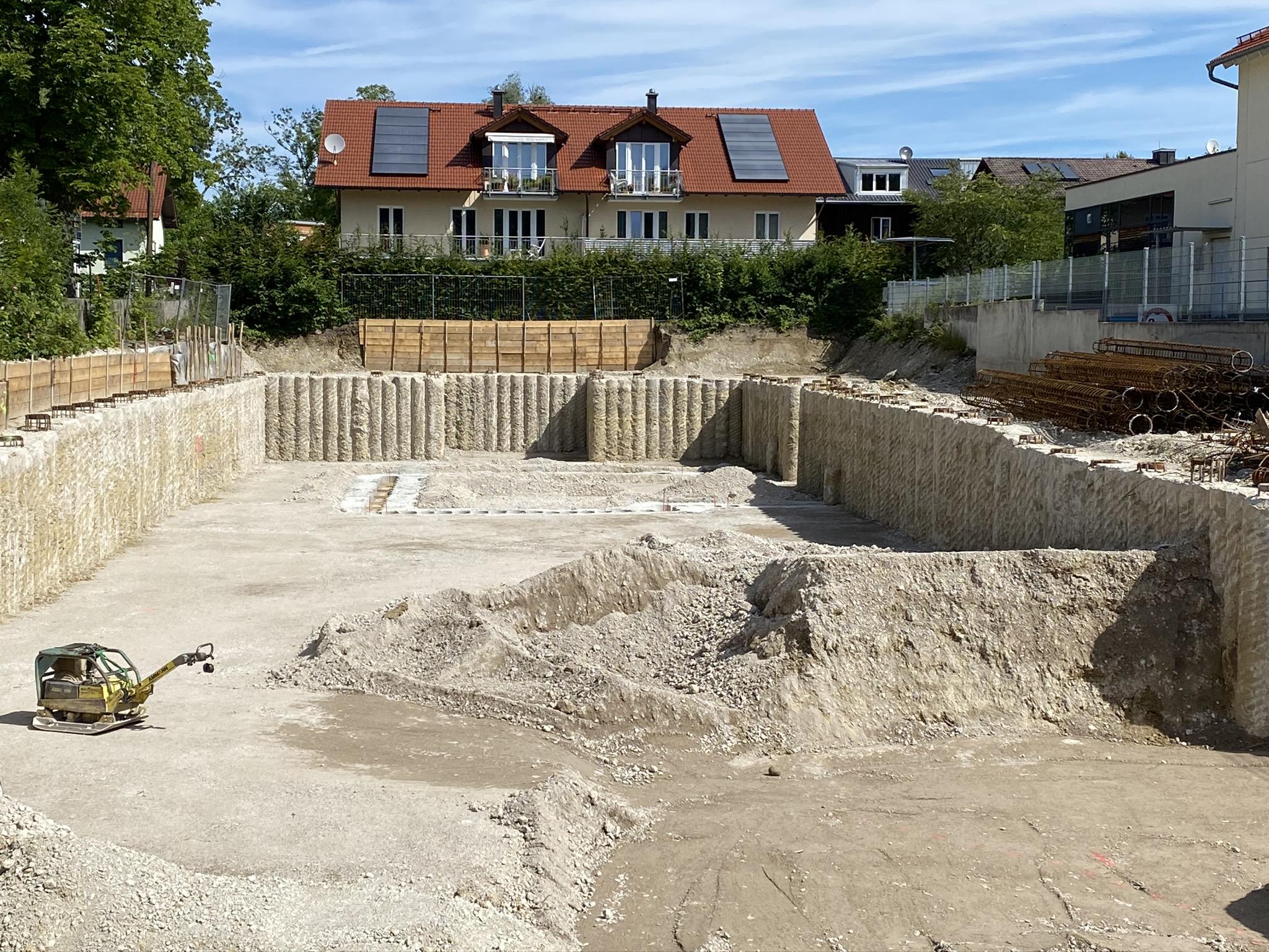 Baugrubensicherung Herrsching