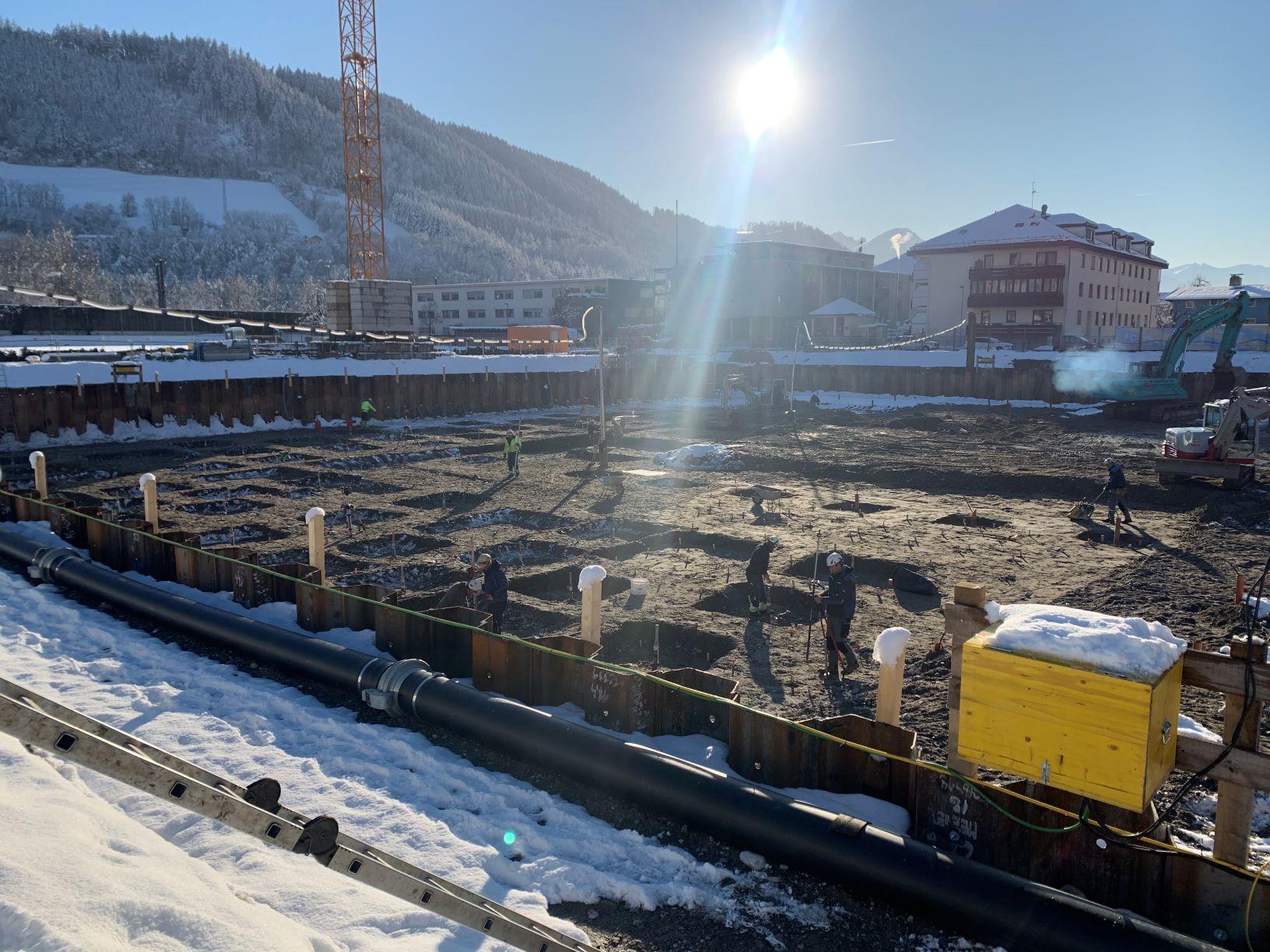 Baugrubensicherung Fröschl Haus 2