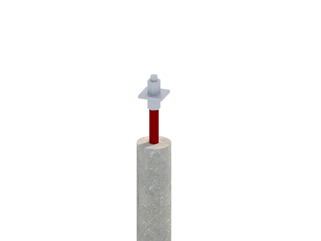 3D Einzelpfahl