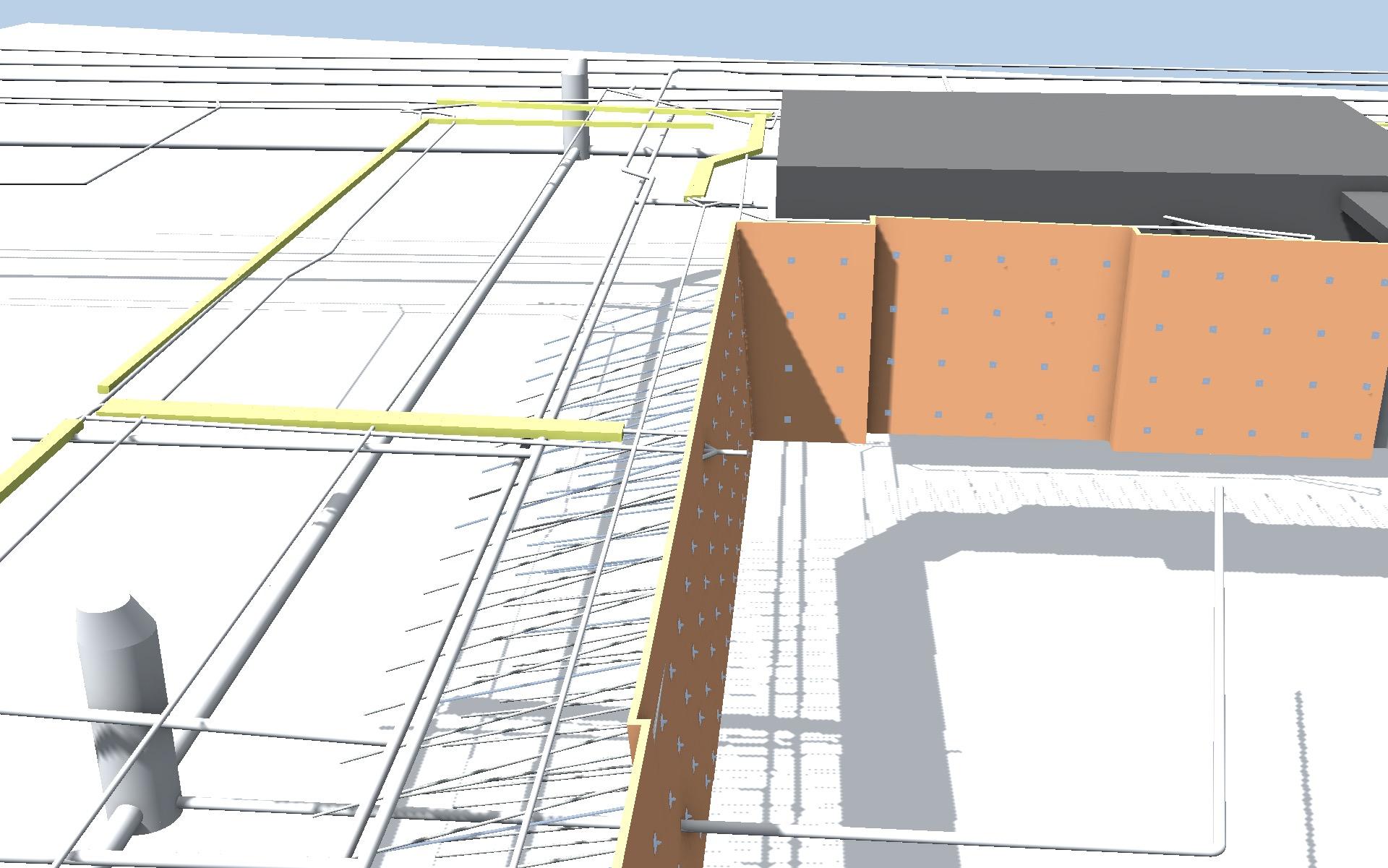 Geotechnisches-Bauwerks-Modell - Spritzbeton-Nagelwand