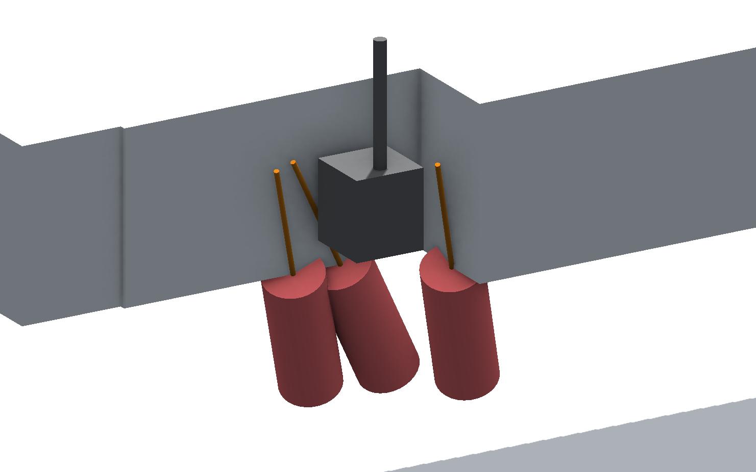 Geotechnisches-Bauwerks-Modell - DSV-Unterfangung