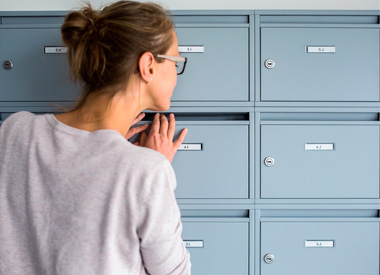 Geschäftsadresse bei b.a. officeconcept, Postannahme, Anrufweiterleitung