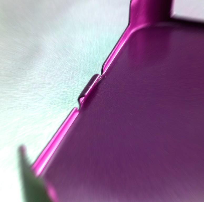 チタンの内側ヘミング加工!表面の変形は「0」!