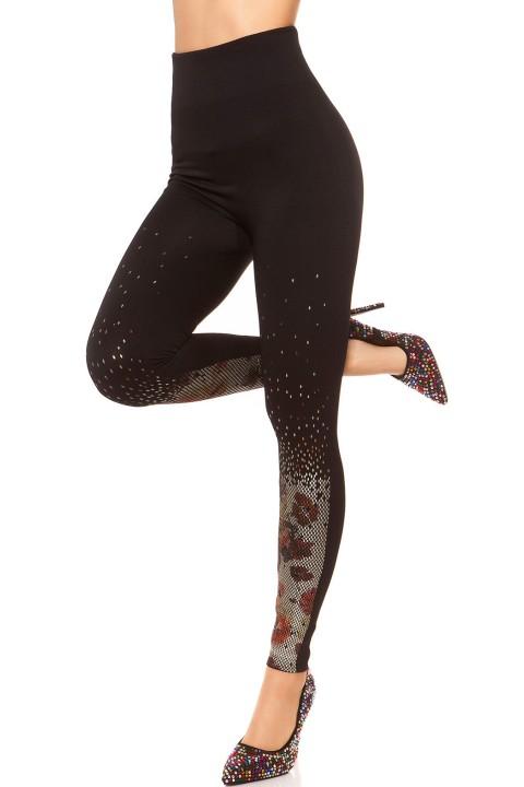 stijlvol design legging suheily, veter grijs