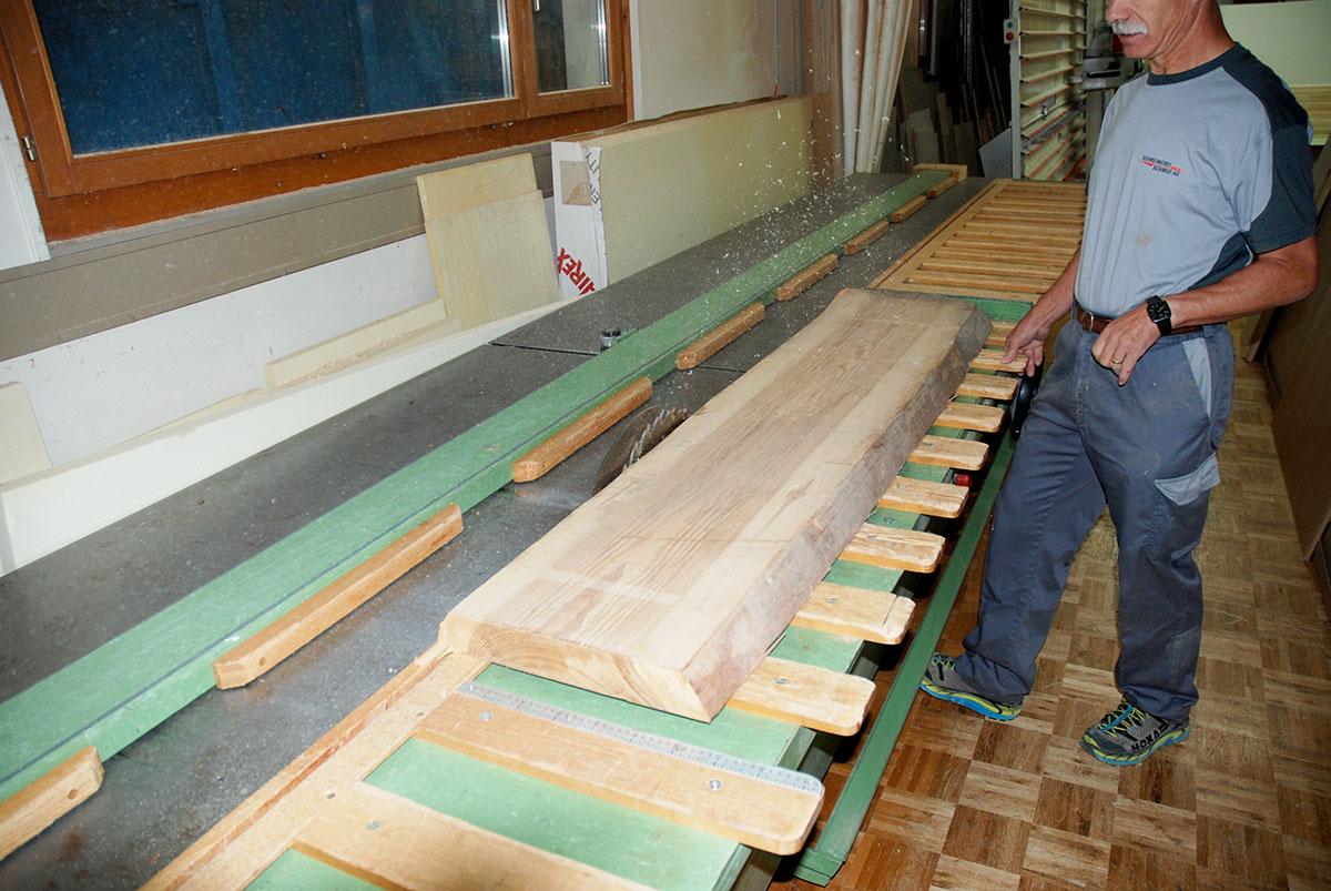 Holzverarbeitung - Schreinerei Schmid AG in Oberönz