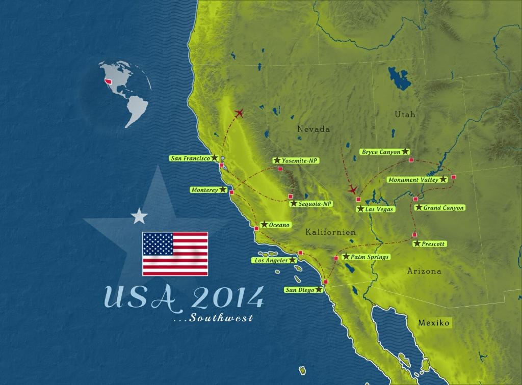Durch den Westen der USA