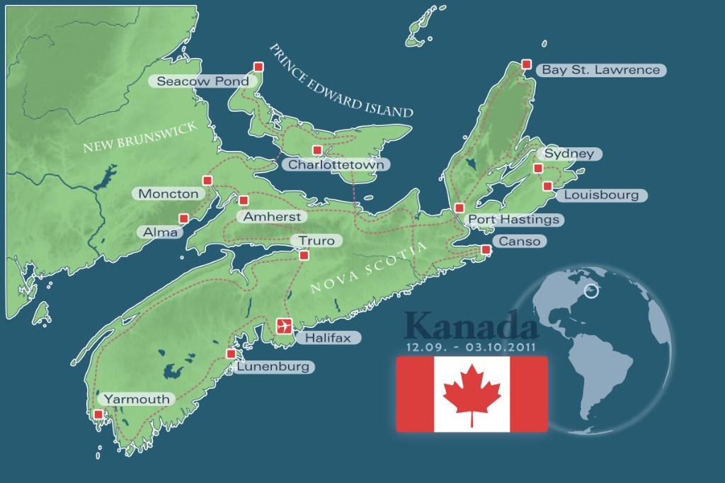 "Durch Kanadas Provinz ""Nova Scotia"""