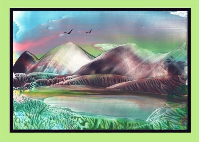 Энкаустика картинки природы