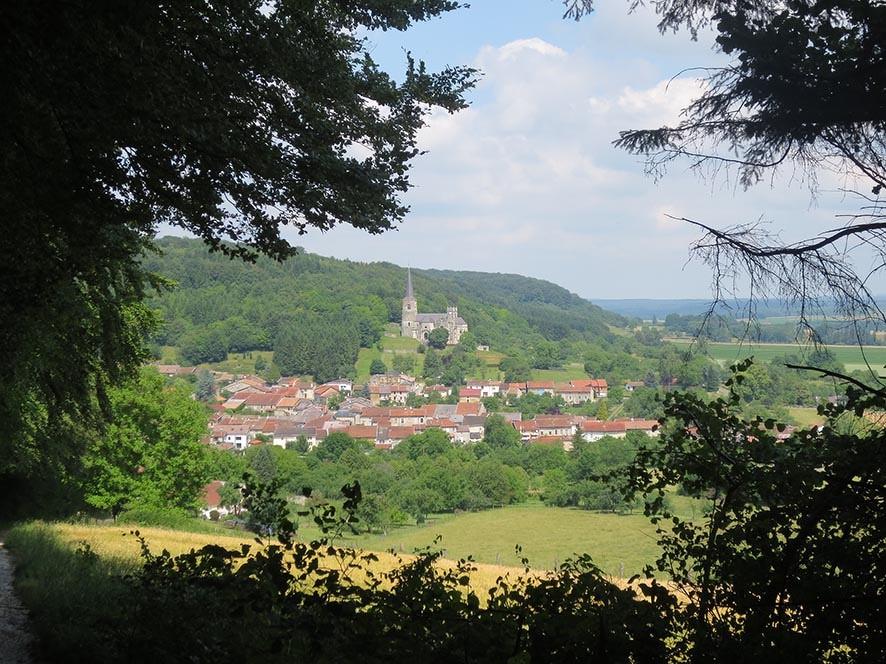 Le village de Mont-devant-Sassey