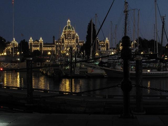 Parlamentsgebäude  - Victoria ist Hauptstadt von British Columbia