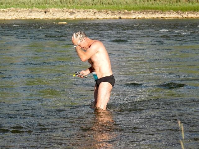 Ohne Duschen - Campground Green River