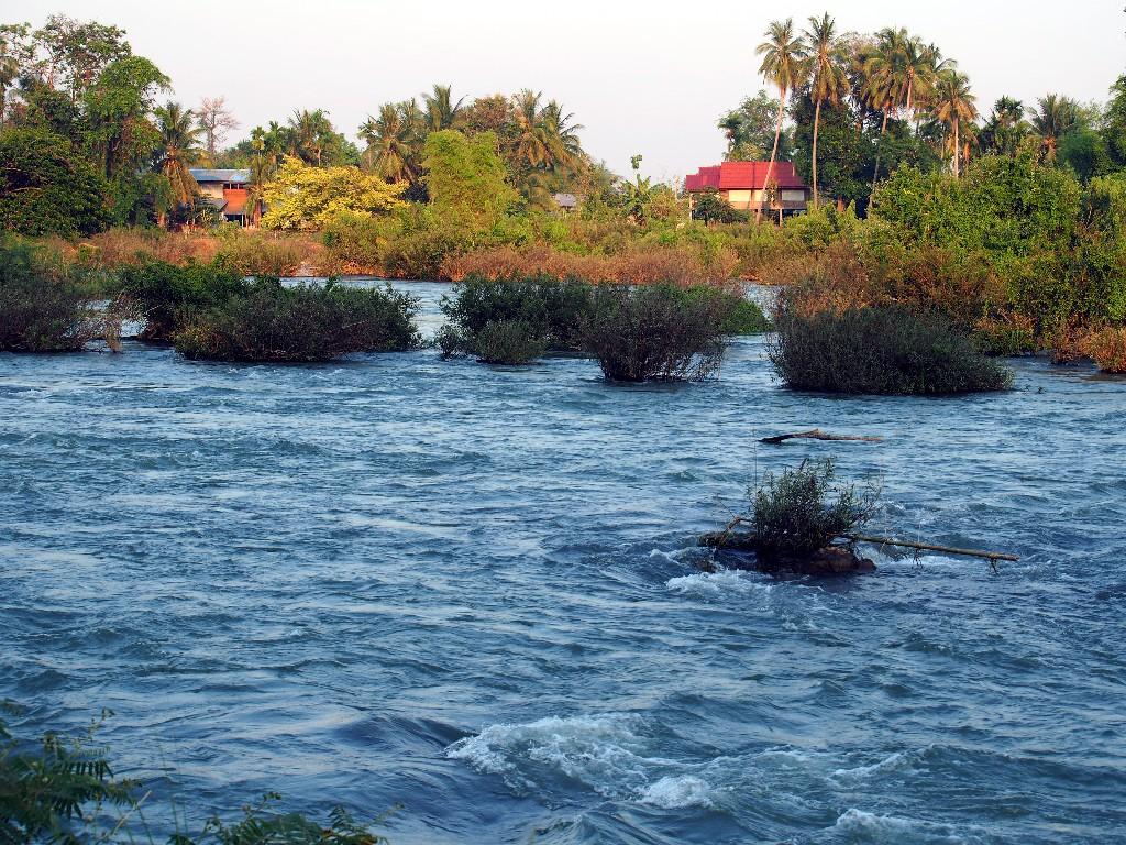 Der Mekong ist hier überall
