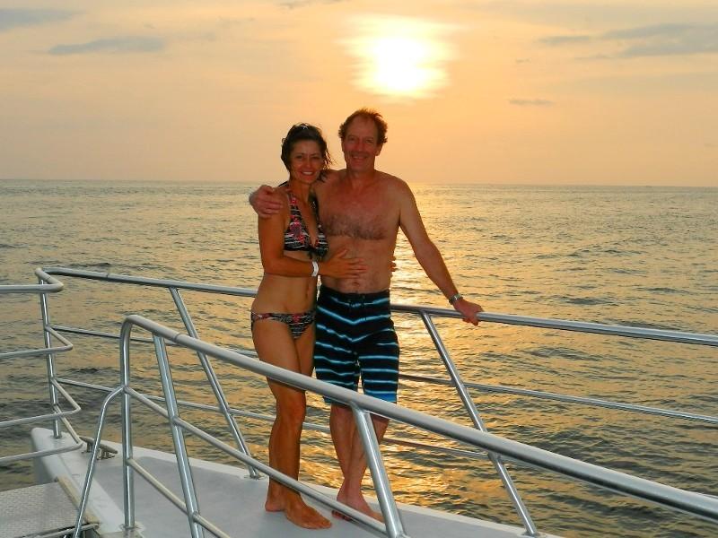 ...Schiffsausflug entlang des Manuel Antonio Nationalparks,...