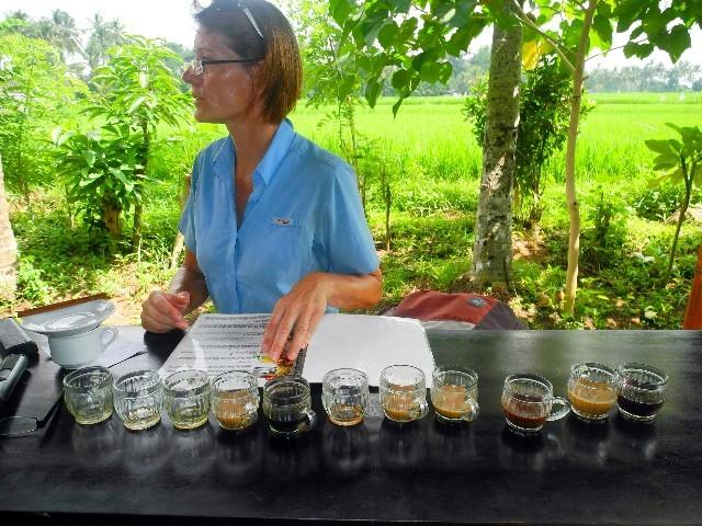 Lumbung Sari Kaffeeplantage - Köstliche Kaffeeverköstigung