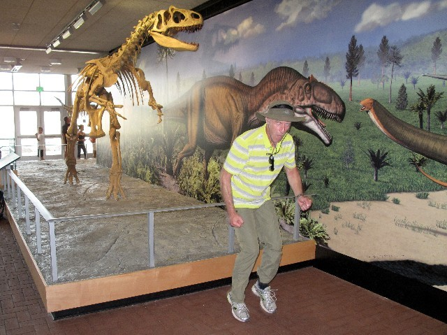 Gestellt - Flucht vor dem Allosaurus