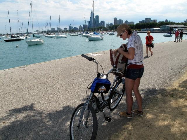 Viel zu sehen - Mit dem Fahrrad durch Chicago