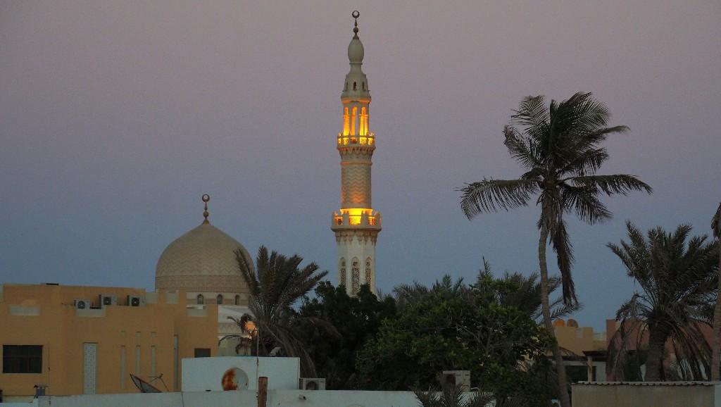 ... und die Moschee aus anderer Perspektive