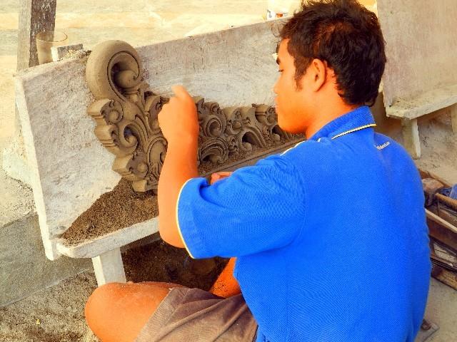 Ubud ist die Kunsthandwerkerhauptstadt von Bali