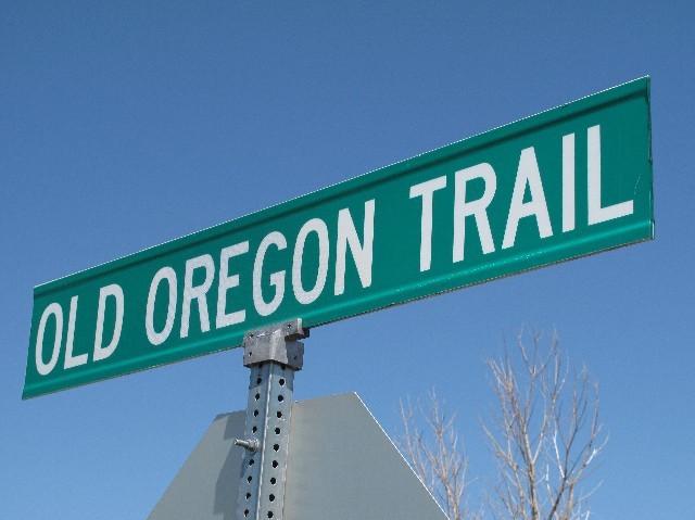 Erinnerung - Hier verlief der Oregontrail (Nebraska)
