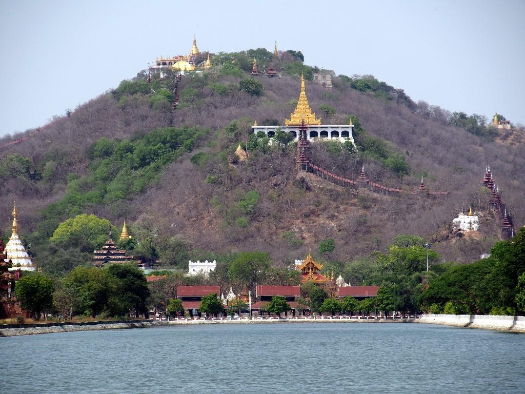 Blick auf den Mandalayhill