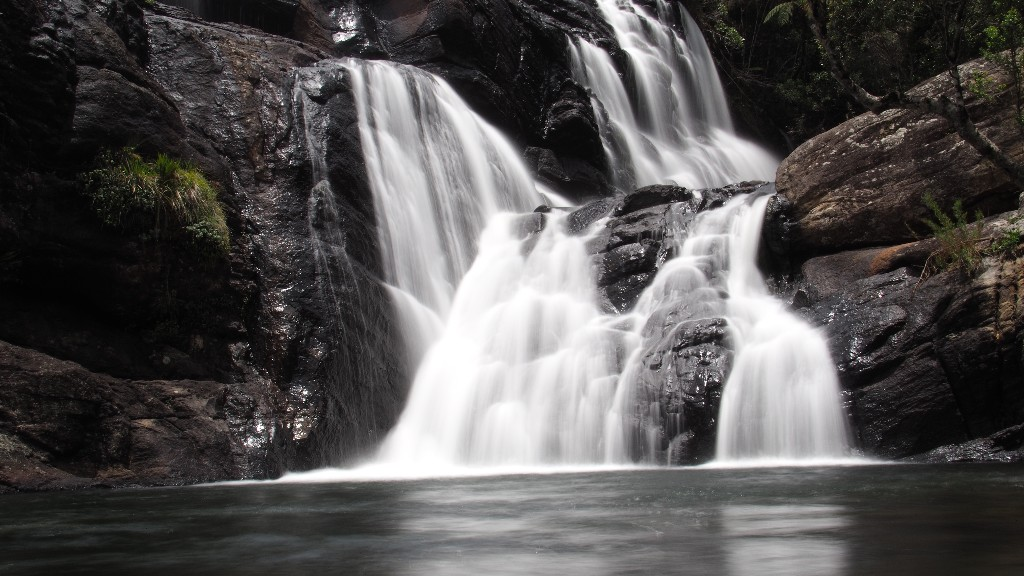 Baker Falls - Wasserreichtum ist ein Merkmal der Horton Plains