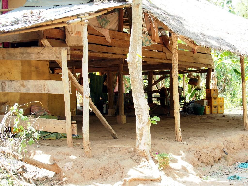 ... gibt es noch traditionelle Häuser.
