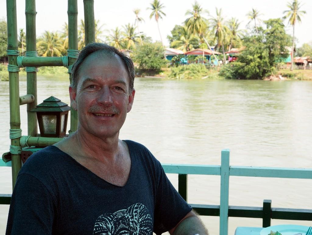 Abschied - Letztes Frühstück im  Sala Done Khon Resort.